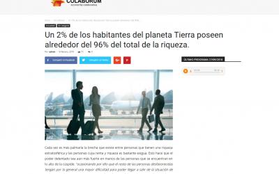 Colaborum, medio online especializado en economía, habla del GuíaBurros: Poder y pobreza
