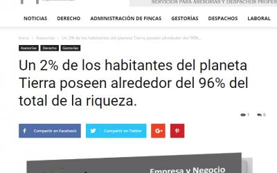 """""""El GuíaBurros: Poder y pobreza"""" en el medio InfoDespachos."""