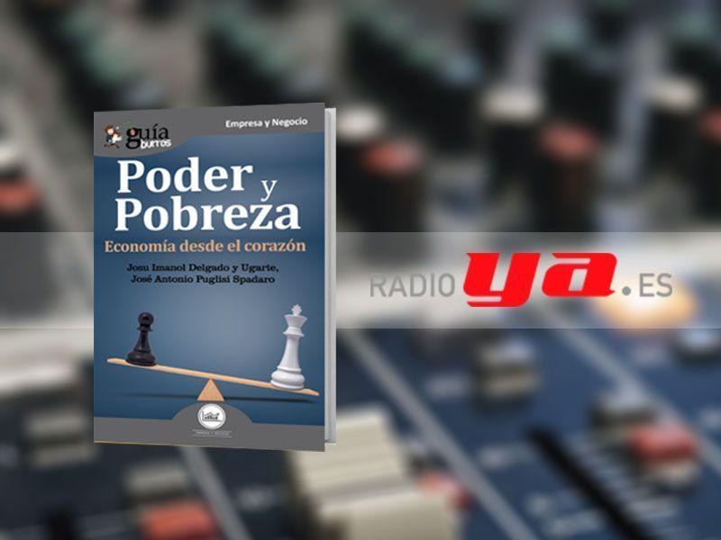 José Antonio Puglisi con su «GuíaBurros: Poder y pobreza» en «Colaborum», en RadioYa